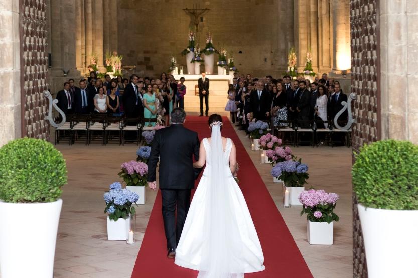 018. La entrada de la novia